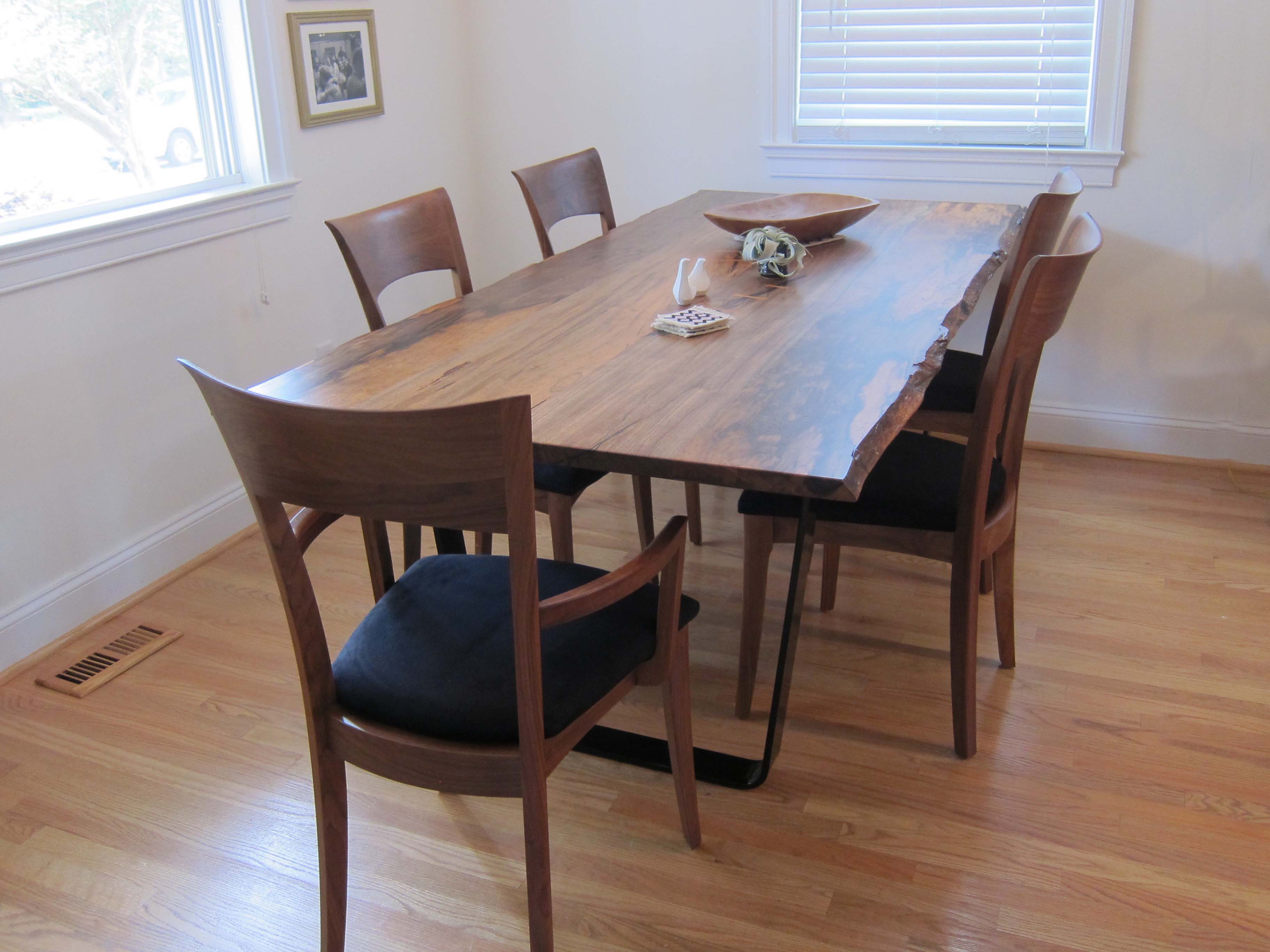 Custom Woodwork Project: Dining Room Table Finishing Touches – Small ...